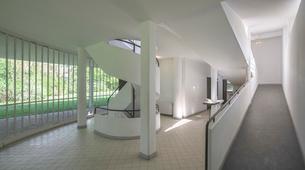 Villa Savoye;Parisの写真素材 [FYI02345178]