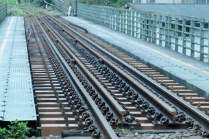 Conception; railwayの写真素材 [FYI02345196]