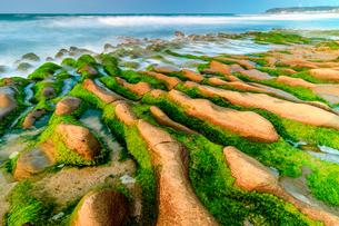 LaoMei Green Reef;Taiwanの写真素材 [FYI02345199]