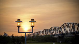 Old Railroad Bridgeの写真素材 [FYI02345242]