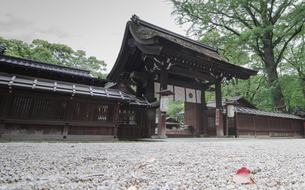 in front of Kawai Shrineの写真素材 [FYI02345346]
