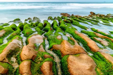 LaoMei Green Reef;Taiwanの写真素材 [FYI02345473]