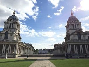 royal naval college;Greenwich Weather Vaneの写真素材 [FYI02345477]
