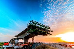Freeway under constructionの写真素材 [FYI02345504]