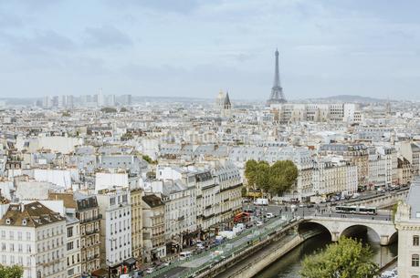 The heart of Parisの写真素材 [FYI02345560]