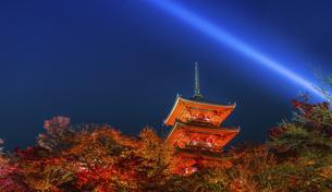 night view of Yasakanotoの写真素材 [FYI02345639]