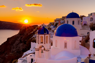 beauty of Santoriniの写真素材 [FYI02345767]