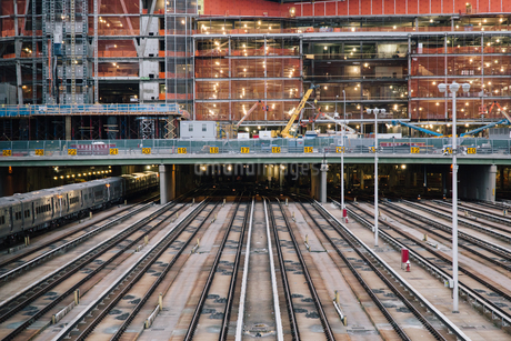 Railway Station;New York;USAの写真素材 [FYI02345829]