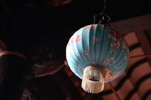 Hakka printed cloth  lanternの写真素材 [FYI02345898]