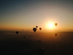 balloon flight;Cappadocia;Turkeyの写真素材 [FYI02345939]