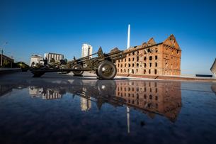 Cannon in Volgogradの写真素材 [FYI02345981]