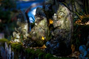 close-up of stoneの写真素材 [FYI02346067]