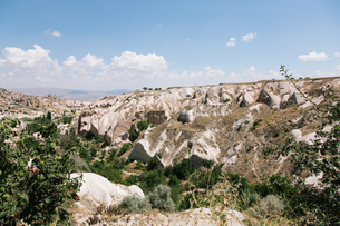 Beautiful view of the hills of Cappadocia;Turkeyの写真素材 [FYI02346265]