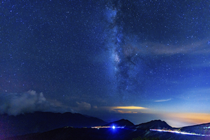 Stars fallin the earthの写真素材 [FYI02346309]