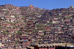 China Tibet Tribal buildingの写真素材 [FYI02346524]
