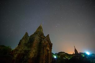 Myanmar Mandalay Pu Gan Templeの写真素材 [FYI02346612]