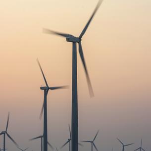 wind power generationの写真素材 [FYI02346660]