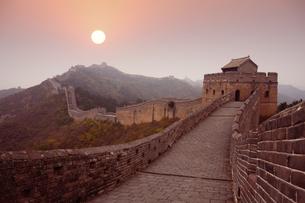 Jinshanling Great Wall;Beijingの写真素材 [FYI02346707]