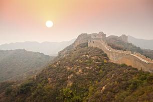 Jinshanling Great Wall;Beijingの写真素材 [FYI02346713]