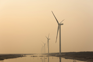 wind power generationの写真素材 [FYI02346726]