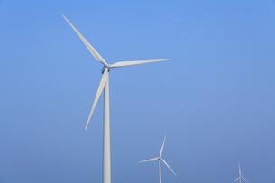 wind power generationの写真素材 [FYI02346807]