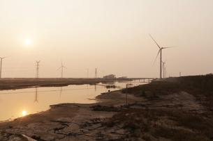 wind power generationの写真素材 [FYI02346854]