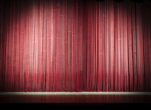 stage curtainの写真素材 [FYI02346969]