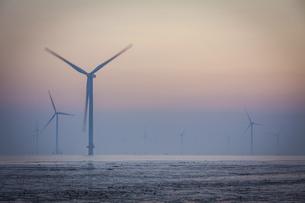 wind power generationの写真素材 [FYI02347171]