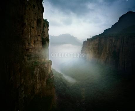 TaiHang grand canyon;Shanxi province;Chinaの写真素材 [FYI02347183]