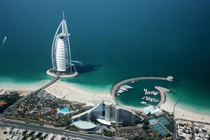 Burj Al Arab Hotel;Dubaiの写真素材 [FYI02347218]