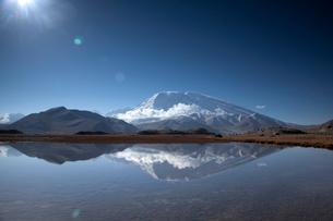 Muztagata Shan;Xinjiang Uygur Autonomous Region;Chinaの写真素材 [FYI02347342]