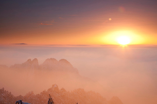 Huang Shan;Anhui Province;Chinaの写真素材 [FYI02347408]