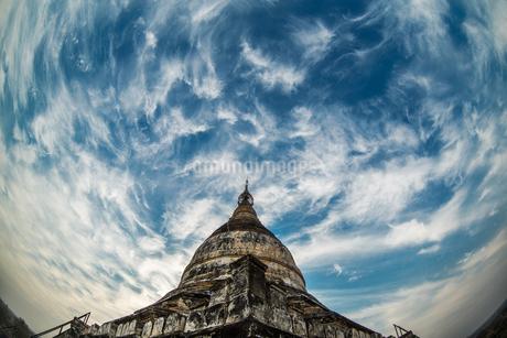 Myanmar Mandalay Pu Gan Templeの写真素材 [FYI02347461]