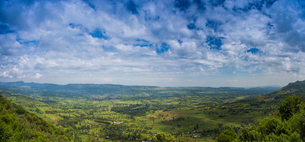 Panoramic View of Great Rift Valleyの写真素材 [FYI02347720]