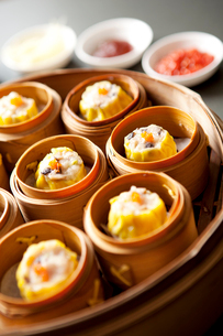 Chinese steamed bunsの写真素材 [FYI02348217]