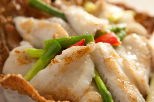 Fried fishの写真素材 [FYI02348314]