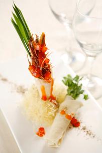 Shrimp burritoの写真素材 [FYI02348315]