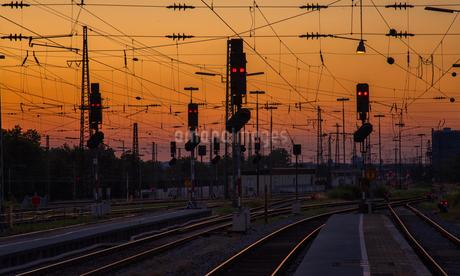 Augsburg Hauptbahnhof ;Germanyの写真素材 [FYI02348351]