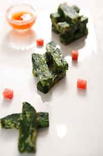 Eggs,vegetable sticksの写真素材 [FYI02348417]