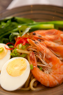 Southeast Asian seafood noodlesの写真素材 [FYI02348494]