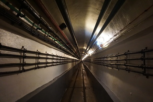 Maginot Line Tunnelの写真素材 [FYI02348547]