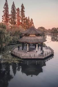 pavilion,Chinaの写真素材 [FYI02348557]
