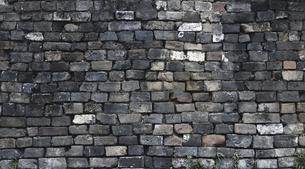 Brick Wall Culture Wallの写真素材 [FYI02348565]