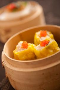 Shrimp dumplingsの写真素材 [FYI02348580]
