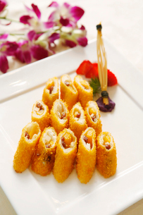 Fried potato rollの写真素材 [FYI02348593]