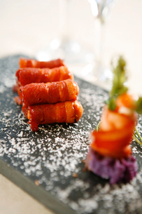 Ham roll dishの写真素材 [FYI02348623]