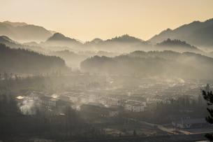 Deep mountain villageの写真素材 [FYI02348744]