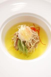 Bean thread soupの写真素材 [FYI02348883]