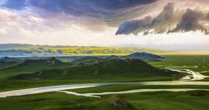 Yunhe mountainの写真素材 [FYI02348998]