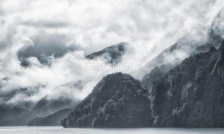 Fiordland National Park;New Zealandの写真素材 [FYI02349066]